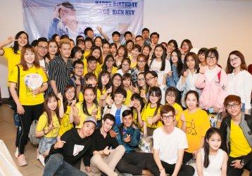 Áo Thun Đồng Phục Fanclub Ngô Kiến Huy