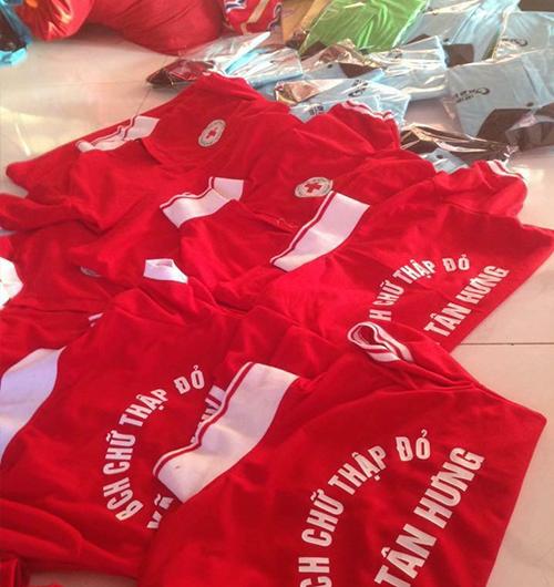 Đồng phục Hội Chữ Thập Đỏ Tân Hưng