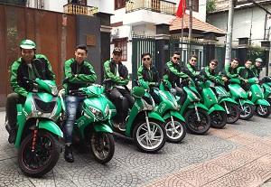 Áo đồng phục Grabbike thương hiệu nổi như cồn