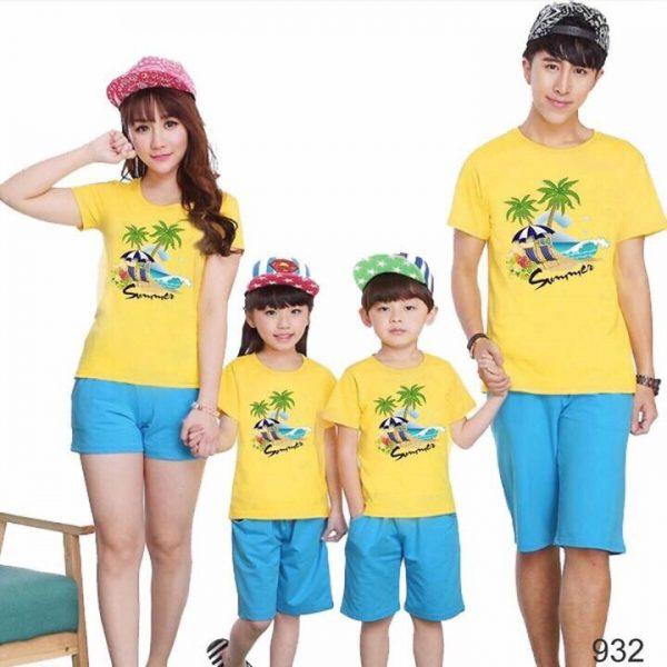 Cách chọn đồng phục áo thun gia đình