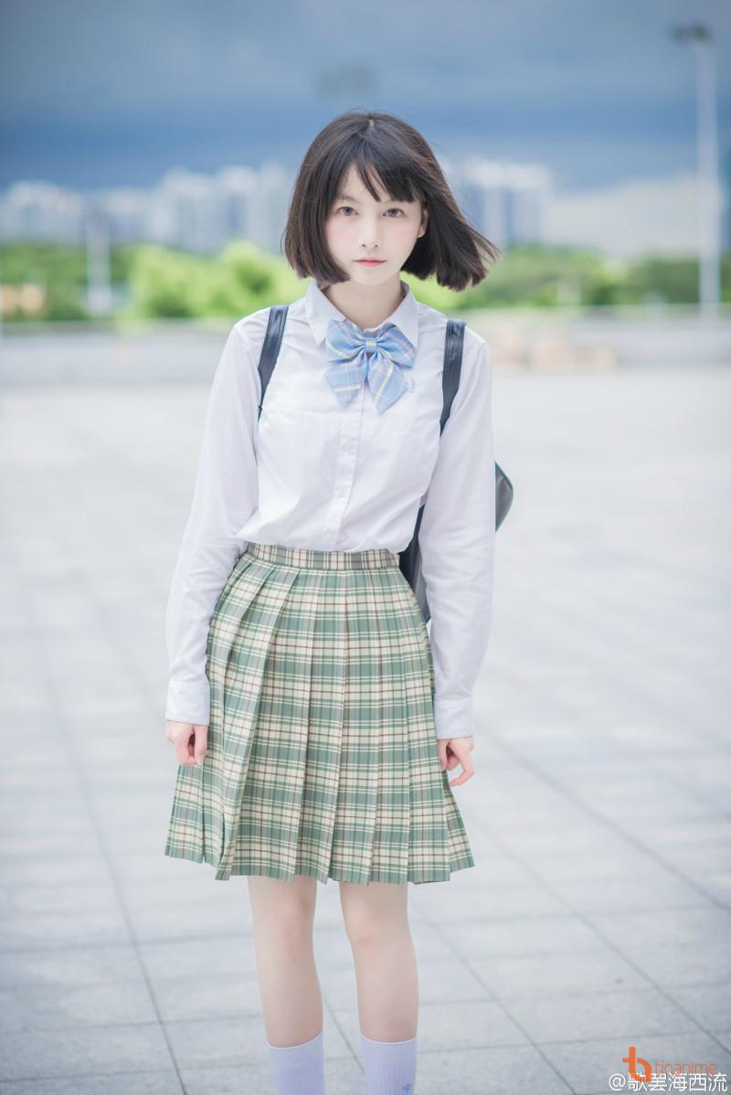 Cosplay đồng phục theo phong cách nữ sinh Nhật Bản