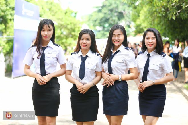 Đồng phục trường Học viện Hàng không TP.HCM